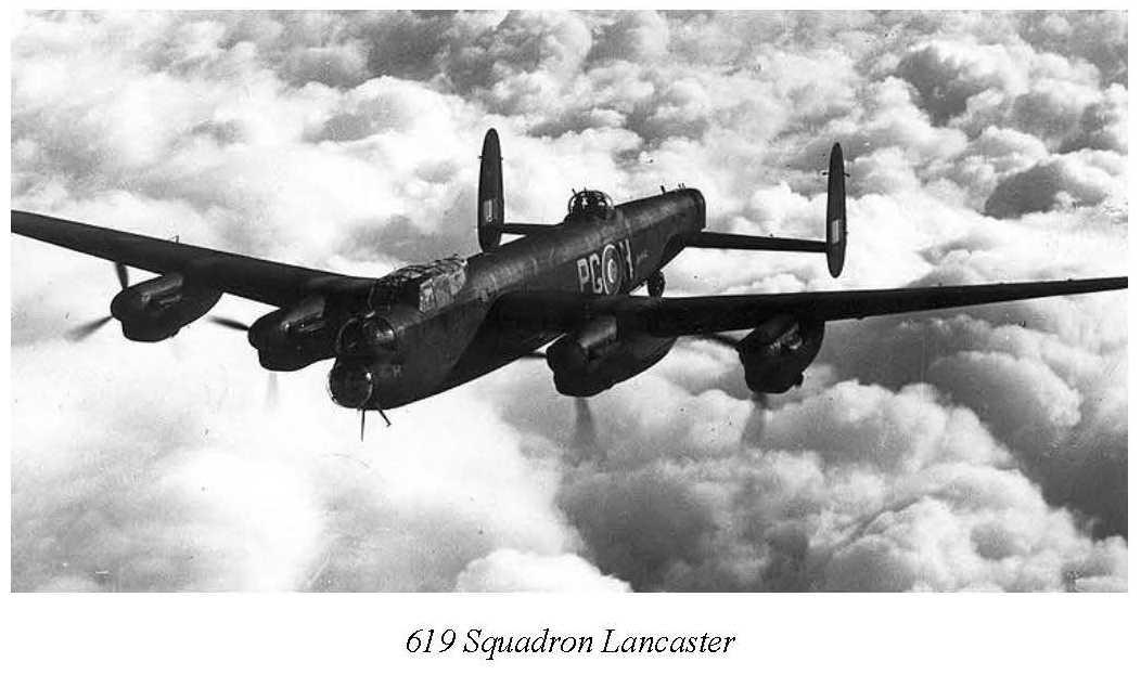 619 Squadron Lancaster